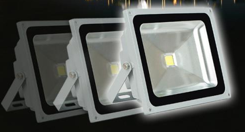 10W RGB 110-240V 1000LM  LED Flood light