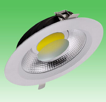 10W COB Aluminum Glass LED Downlight
