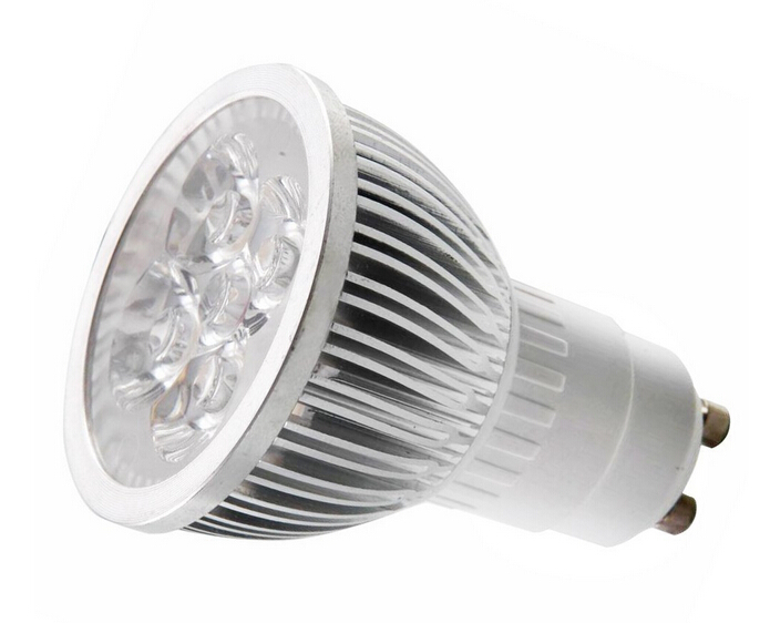110V 4W GU10 LED Bulb 330 Lumen 45 Degree Beam Angle