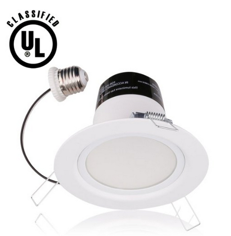 11W 4in Dimmable LED Recessed Lighting Fixture