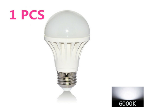 12W LED Light Bulb 120V E26 Cool White
