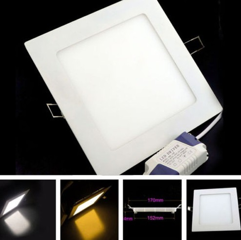 16W White Light LED Panel Light