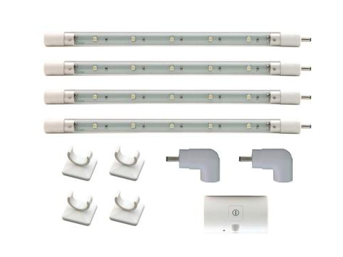 20-LED Under Cabinet Tube Light Kit