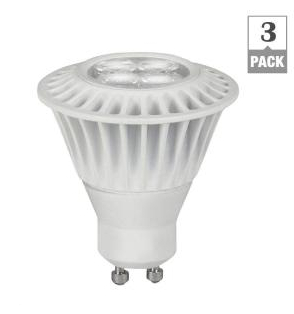 35W Equivalent Bright White GU10 Dimmable LED Spot Light Bulb