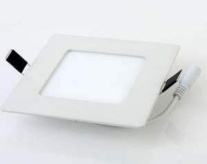 3W SMD2835 AC85-265V square led panel light