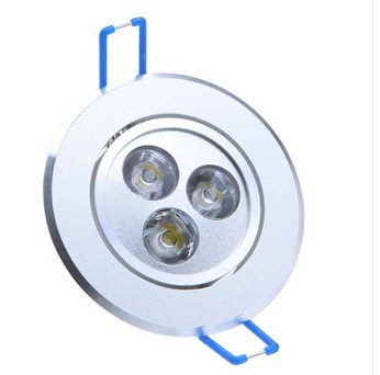 3W led down lights warm white indoor lights