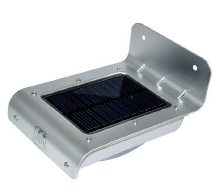 6 led outdoor solar Light Motion-Activated Solar wall waterproof