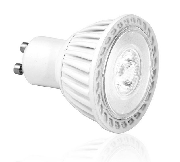 6W GU10 LED Light Bulbs Bright White 4000k