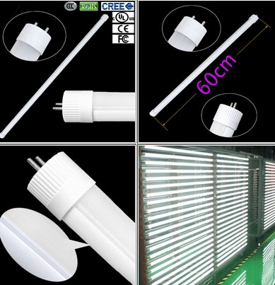 8pcs T8 10W SMD 60CM LED Fluorescent Replacement Tube