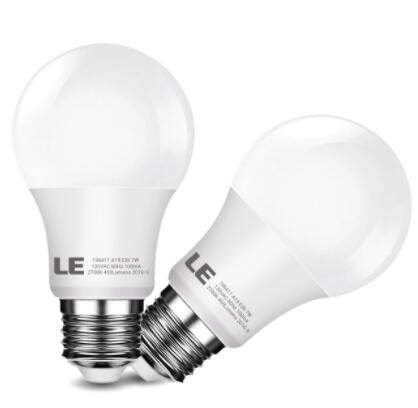A19 7W E26 LED Bulbs Warm White