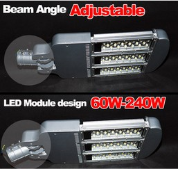 Adjustable beam angle Bridgelux Meanwell driver solar led street light