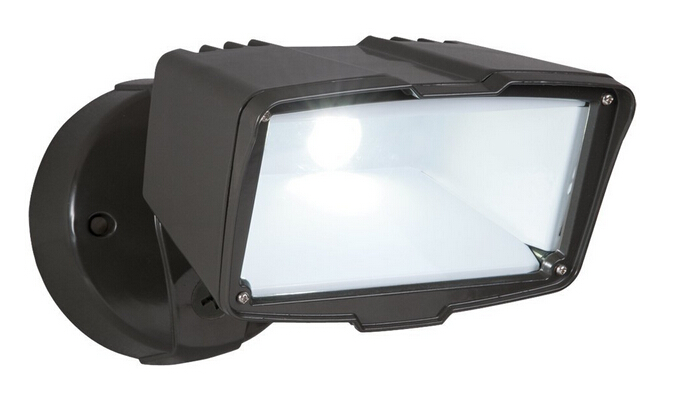 All Pro Outdoor Security Single Head LED Floodlight