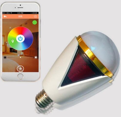 Bluetooth 4.0 App Remote Control RGB LED Bulb