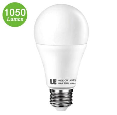 Brightest 75W Incandescent Bulbs Equiv 12W E26 A19 LED Bulbs
