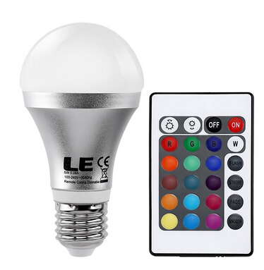 Color Changing A19 5W LED Light Bulbs