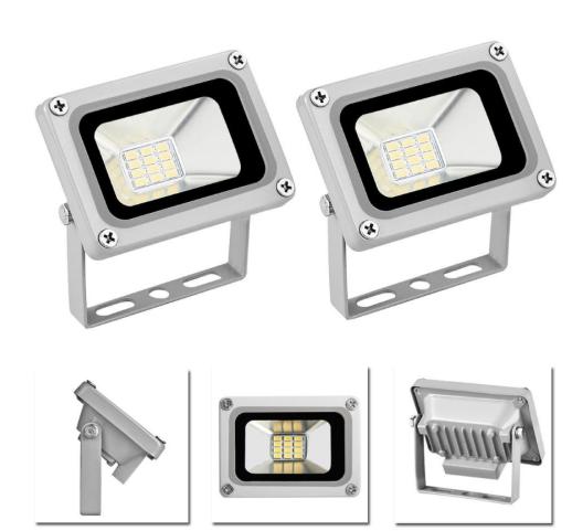 Cool White 12V LED Floodlight