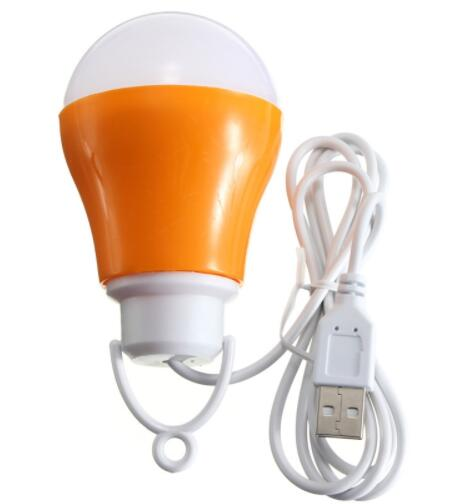 DC 5W 6500K White Low Voltage USB LED Bulb