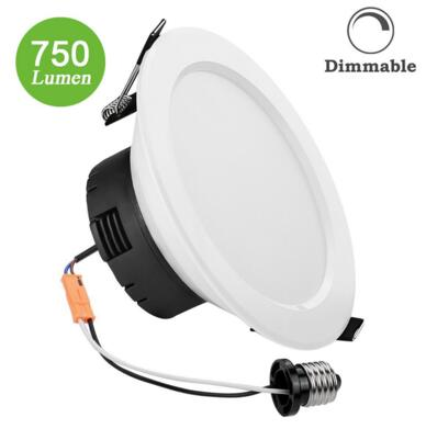 Dimmable 12W 4-Inch Daylight White LED DownLight