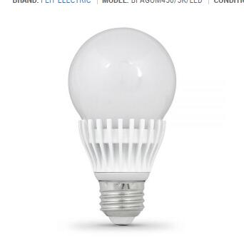 Dimmable E26 7.5W 5000K 485 Lm