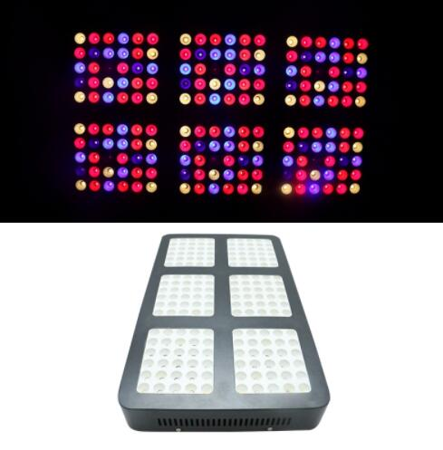 Double Chip Concentrated 1800W 380-730NM Full Spectrum LED Grow light