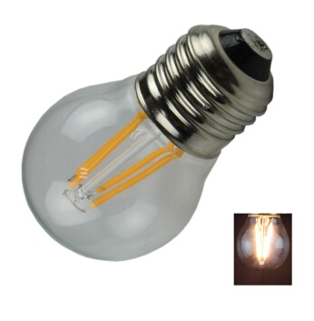 E14 2700K Warm White Filament Glass Housing LED Bulb