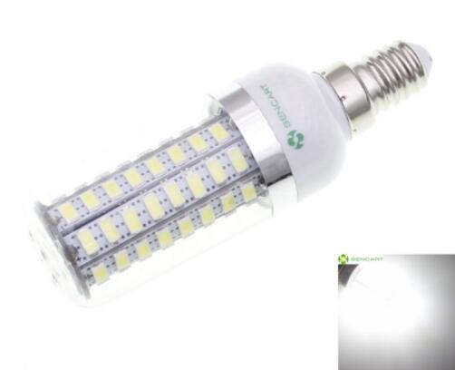 E14 15W 1200LM Transparent Shell SMD5730 LED Corn Bulb