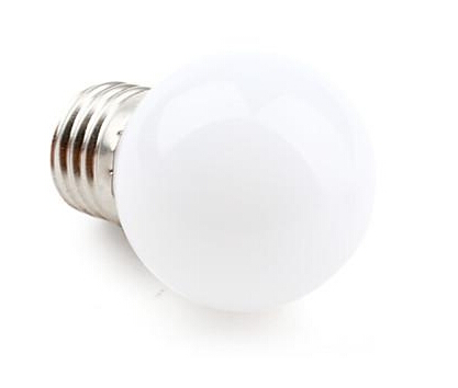E27 0.5W 3528SMD Natural White LED Bulb