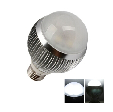 E27 6W 6 LED High Power LED Light Bulb