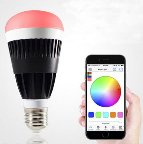 E27 10W Warm White Dimmable Bluetooth LED Bulb