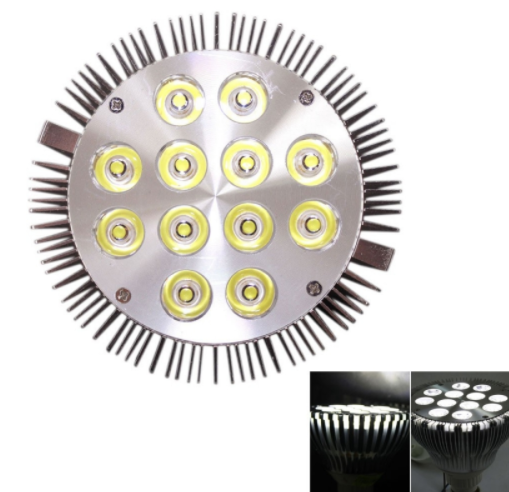 E27 12W 1200LM PAR38 Power LED Spotlight