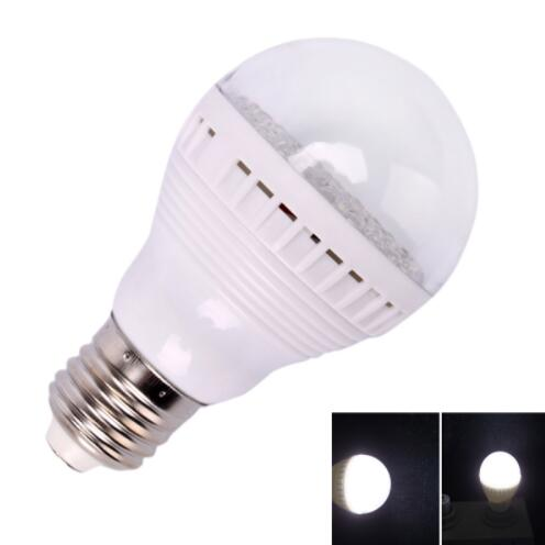 E27 3W 60 LED White Light LED Bulb