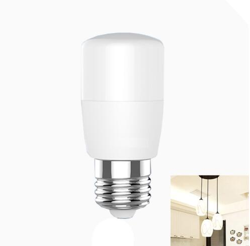 E27 4.8W 6500K High Brightness Cylinder Lamp White Light