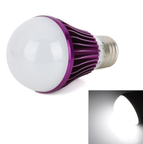 E27 5W 10-LED 5730 SMD Adjustable LED Bulb