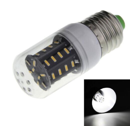 E27 5W 400lm 6000K White Light SMD 4014 LED Corn Bulb
