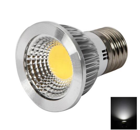 E27 6W White Dimmable COB LED Bulb