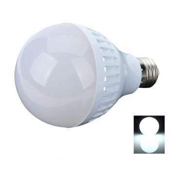 E27 9W White Light LED Light Bulb