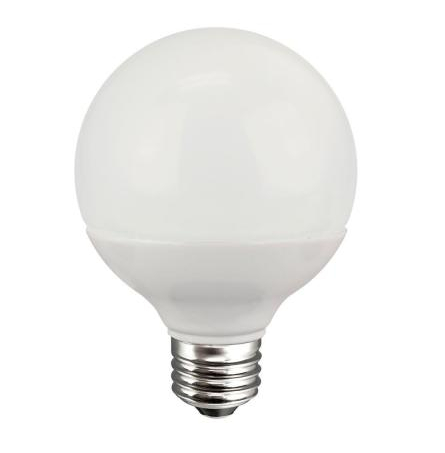 G25 40W Equivalent Soft White Dimmable LED bulb