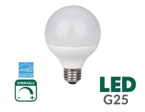 G25 LED Light Bulb 8 Watt Fully Enclosed Rated