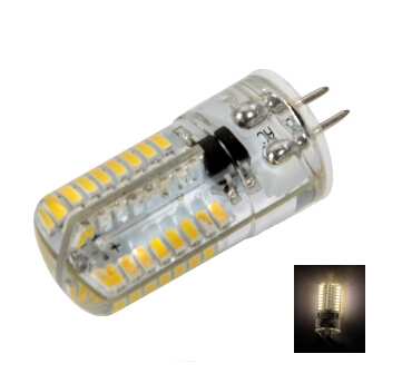 G4 4W SMD3014 3000-3500K LED Corn Light Bulb