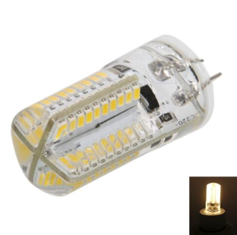 G4 4W SMD3014 Dimmable Silicone LED Corn Light