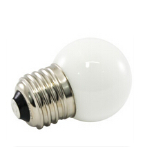 G40 Globe 120V E17 GREEN Dimmable LED Bulb