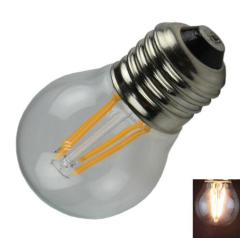 G45 E27 4W 400LM Warm White LED Bulb Light