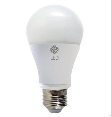 GE 7W A-Shape Dimmable LED light bulb