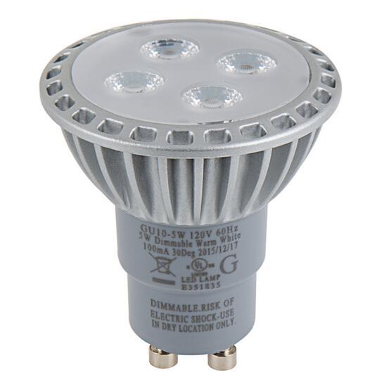GU10 35 Watt Equivalent LED Spotlight Bulb