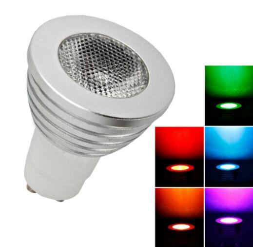 GU10 5W 100 Lumen Remote Control LED bulb Light