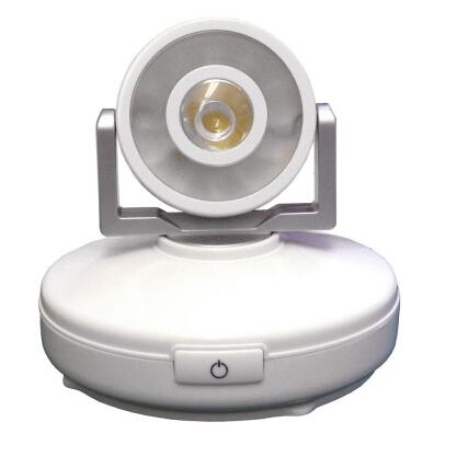 High Output 1-Light White LED Spot Light