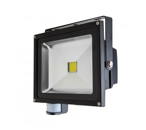 High Power 30W LED Flood Light Fixture with Motion Sensor