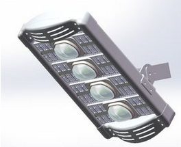 High Power LED Tunnel Light 190W 19950LM With CE