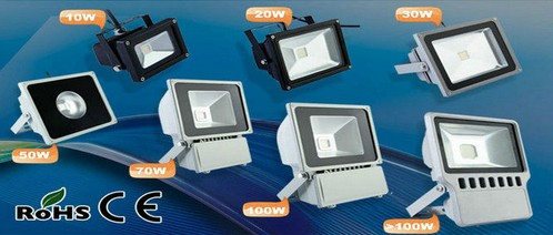 High power 30w 2800lm led explosion proof flood light