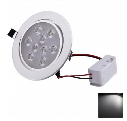 High Power 9W 730lm Cool White LED downlight